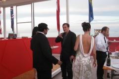 Quentin Tarantino con Donna Frida