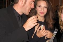 Valerio Mastandrea con Donna Frida