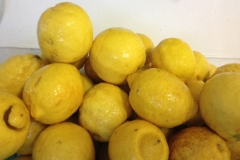 Asciugatura dei limoni