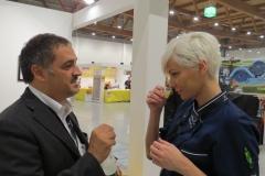 Giovanna Wale Masterchef con Andrea Corocher