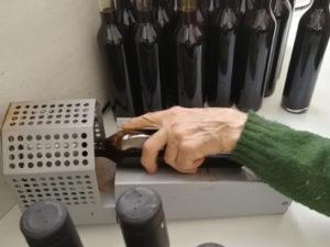 Applicazione della capsula termoretraibile