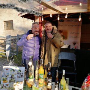 Marco e Pippo i comici in degustazione da noi a Cison 2019