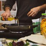 Show cooking arancello